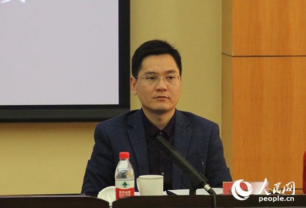 中央党校国际战略研究院中国外交研究室主任、教授罗建波与会(人民网记者 杨牧摄)