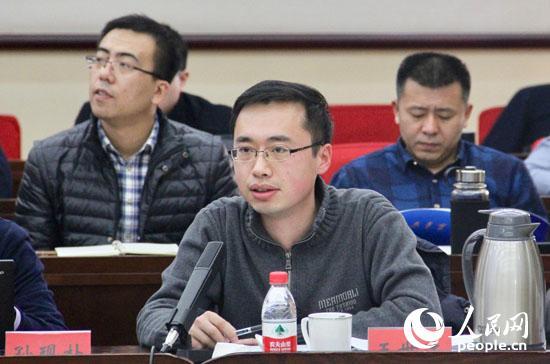 现代国际关系研究院南亚东南亚大洋洲研究所副所长、副研究员王世达发言(人民网记者 杨牧摄)
