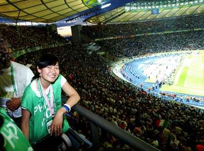 2006年世界杯决赛现场